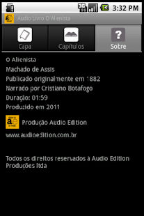 Audio Livro O Alienista - screenshot thumbnail