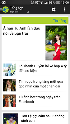 Đọc báo - Tin chọn lọc cho bạn - screenshot