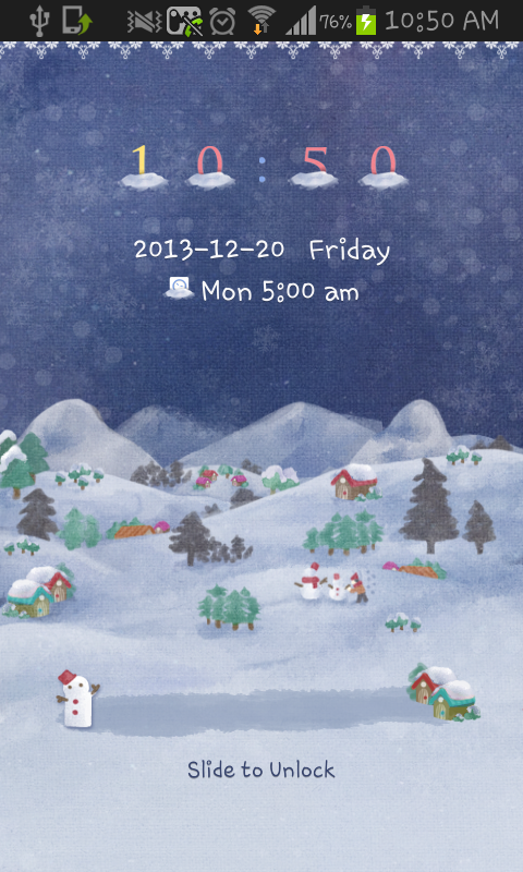 The Winter Night go locker - screenshot