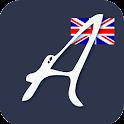 ENGLISH ALPHABET NOTE icon