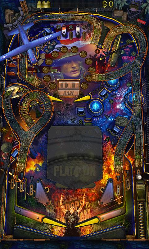 War Pinball HD- screenshot
