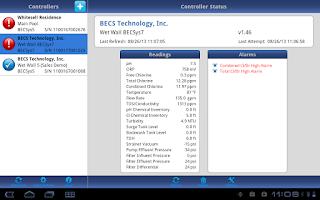 Screenshot of BECSys Now!