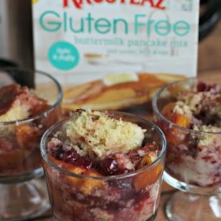 Gluten Free Cranberry Peach Cobber