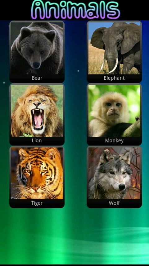 Animal Sounds for Children - screenshot