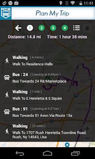 RIT Bus App - screenshot thumbnail