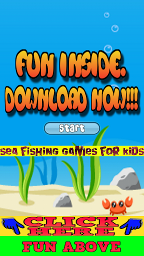 Sea Fishing Games for Kids
