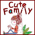Cute Calendar Family icon