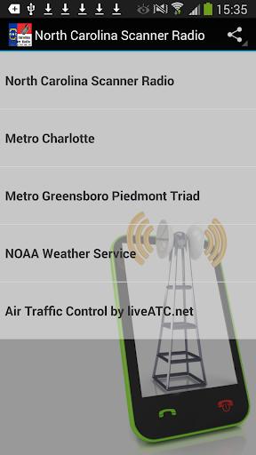 Scanner Radio North Carolina