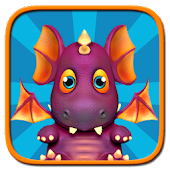 Virtual pet baby care - Dragon