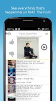 Screenshot of 104.1 The Fish-FM