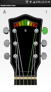 Simple Guitar Tuner - screenshot thumbnail