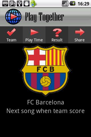 Play Together - Football Songs - screenshot
