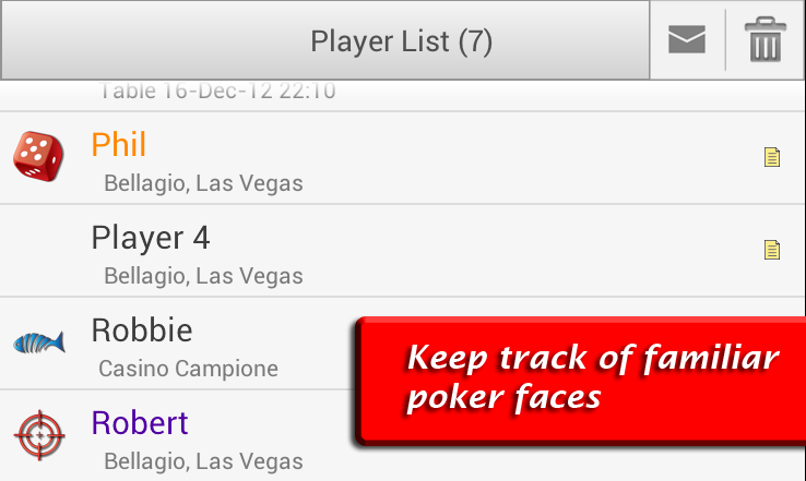 Poker Notes Live- screenshot