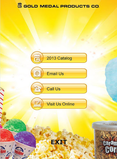 Gold Medal Products Co. App