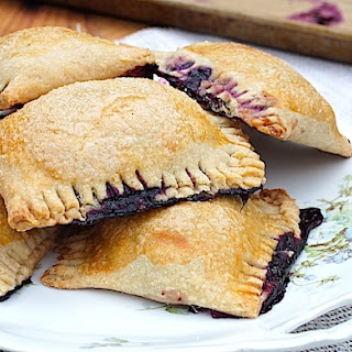 DEEP BLUEBERRY HAND PIES