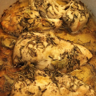 Crock Pot Mediterranean Chicken