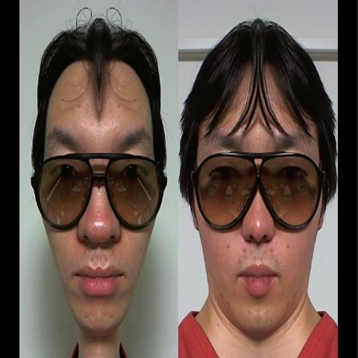 左右顔カメラ 媒體與影片 App LOGO-硬是要APP