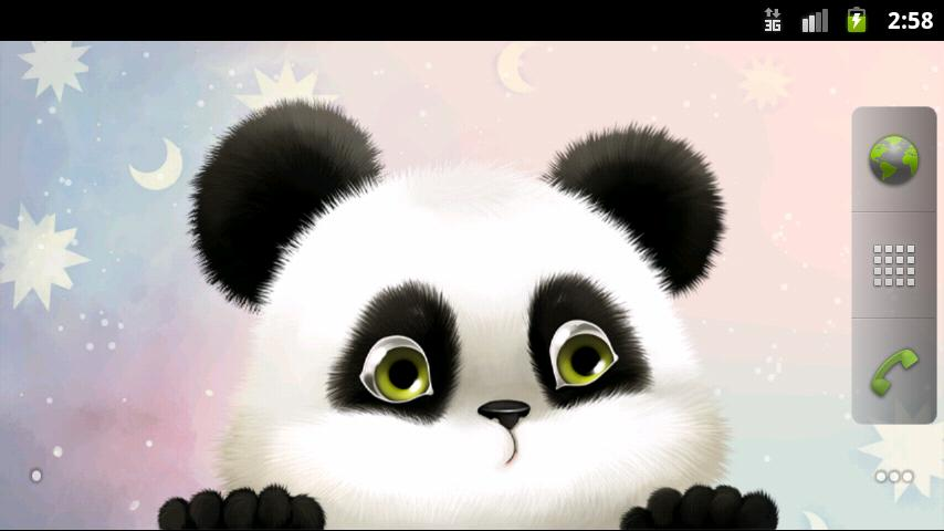 Panda Chub Live Wallpaper - screenshot
