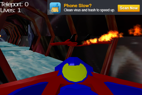 Galaxy Base 3D Maze- screenshot