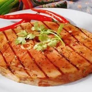 Fiesta Grilled Ham Steak.