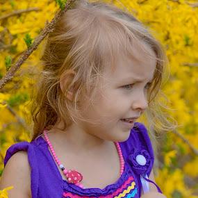 by Patti Cooper - Babies & Children Children Candids ( child, flowers, toddler, kid,  )