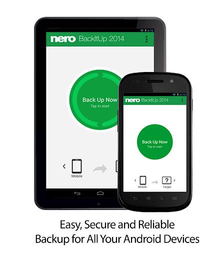 Nero BackItUp - Android Backup
