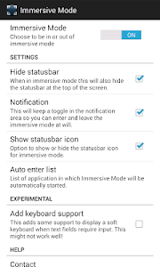 Immersive Full-Screen Mode v1.11.3
