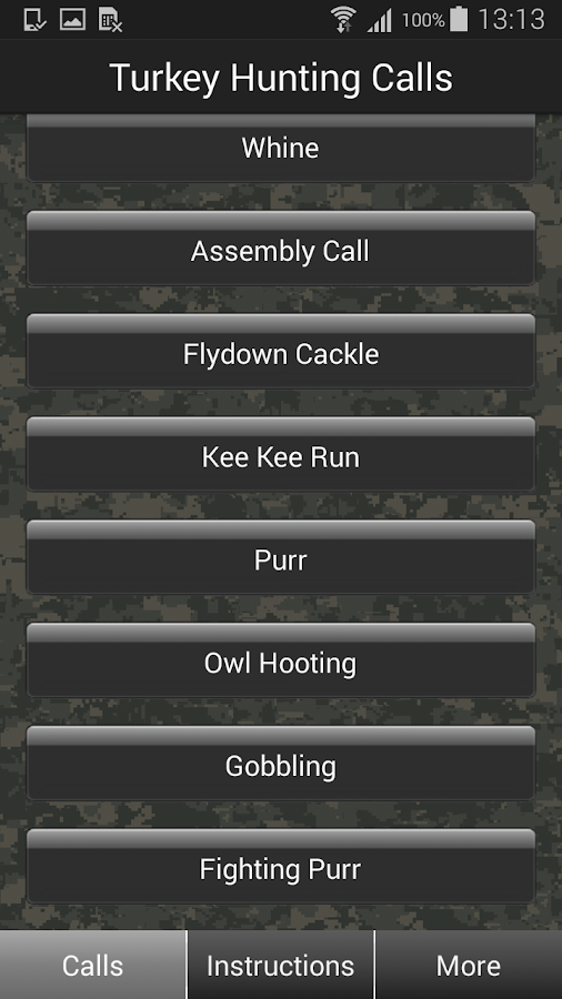 Turkey Hunting Calls - screenshot
