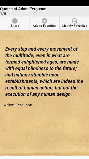 Quotes of Adam Ferguson
