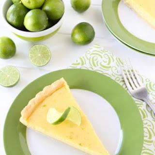 Key Lime Tart.