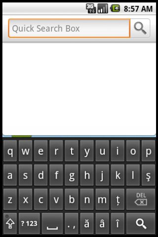 Romanian Keyboard- screenshot