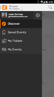 Eventbrite - screenshot thumbnail