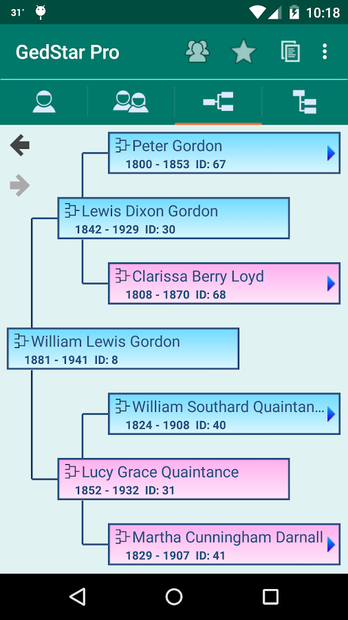 GedStar Pro Genealogy Viewer- screenshot