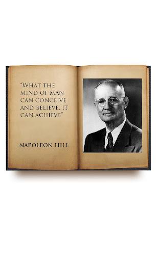 Napoleon Hill talks about