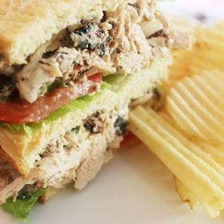 "Smokey ""Fried"" Creole Turkey Salad Sandwich"