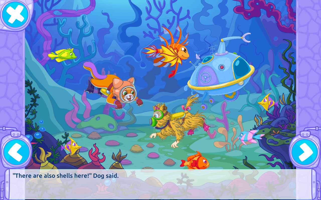 Cat & Dog Adventure - Free for Parents and Kids- screenshot