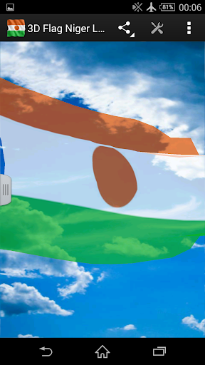 3D Flag Niger LWP