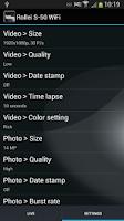 Screenshot of Rollei S-50 WiFi