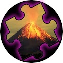 PuzzleMania Volcanoes! logo