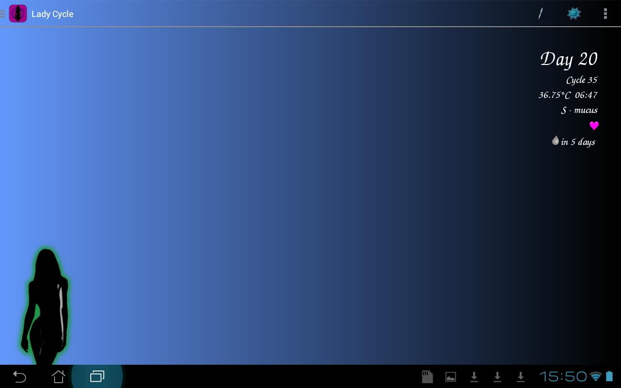 Lady Cycle - screenshot