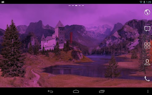Autumn Meadows Live Wallpaper - screenshot thumbnail