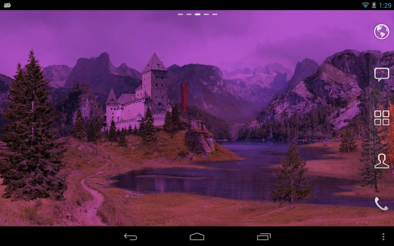 Autumn Meadows Live Wallpaper - screenshot