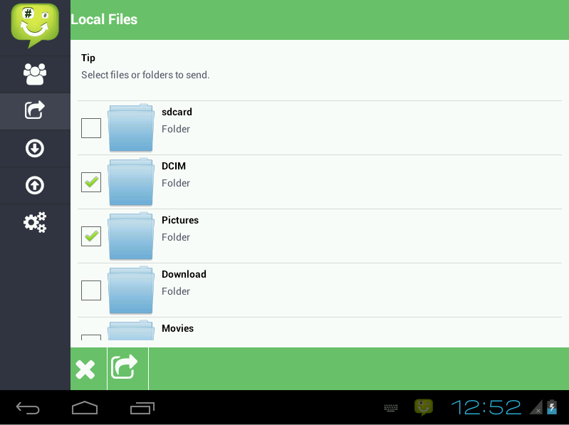 Feem v3 Pro - WiFi File Share- screenshot