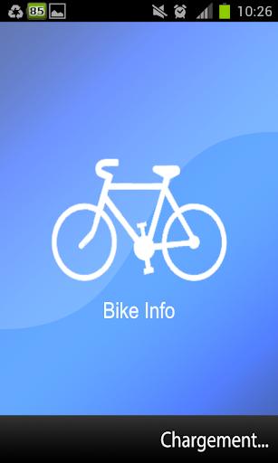 Bike Info - Velib Velo'V ..