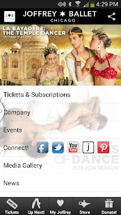 The Joffrey Ballet - screenshot thumbnail