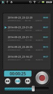 PCM Recorder Lite- screenshot thumbnail