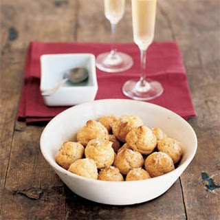 Salt-and-Pepper Cheese Puffs (Gougères)