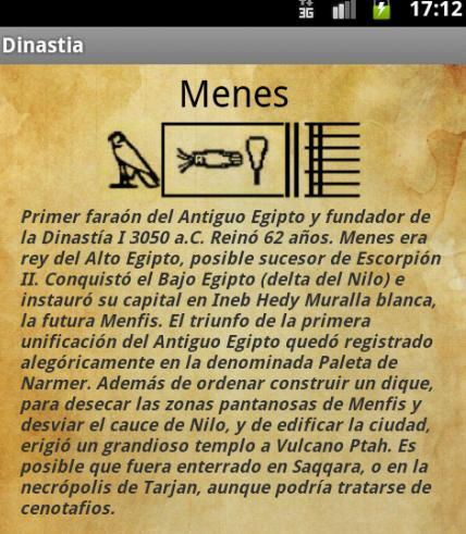 Dinastias de Egipto – Screenshot