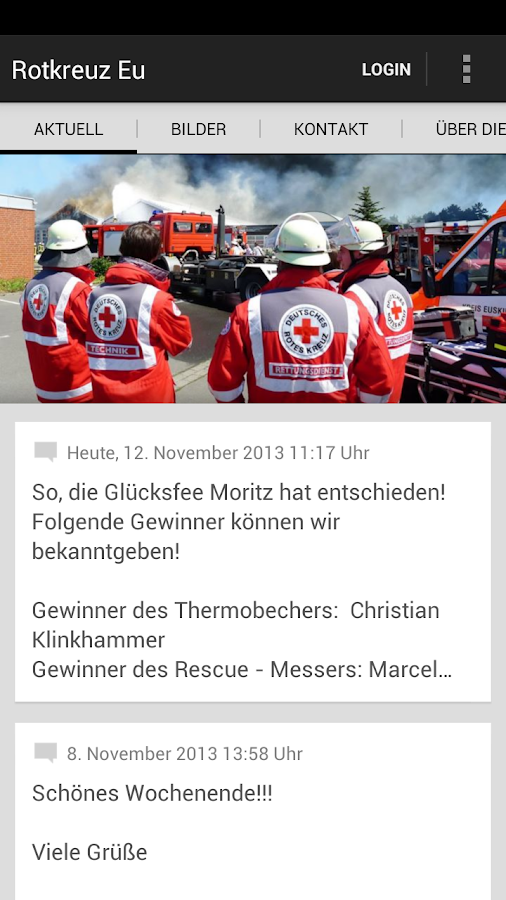 DRK Kreisverband Euskirchen - screenshot
