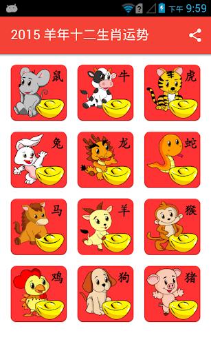 2016 猴年十二生肖运势